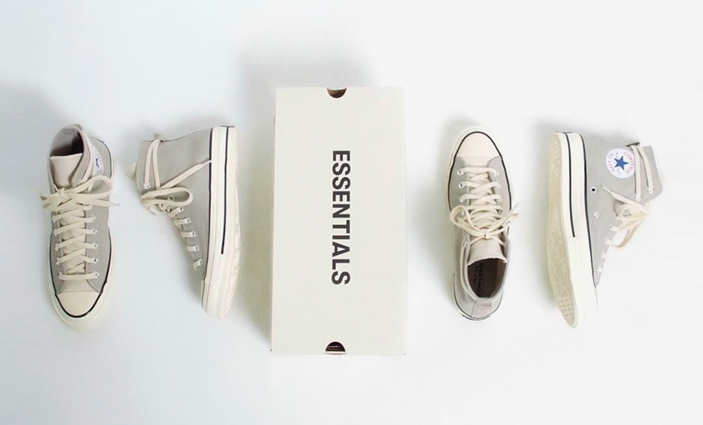 essentials converse grey