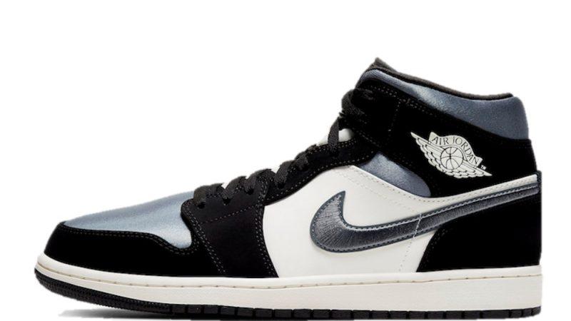 Jordan 1 Mid Grey Toe feature