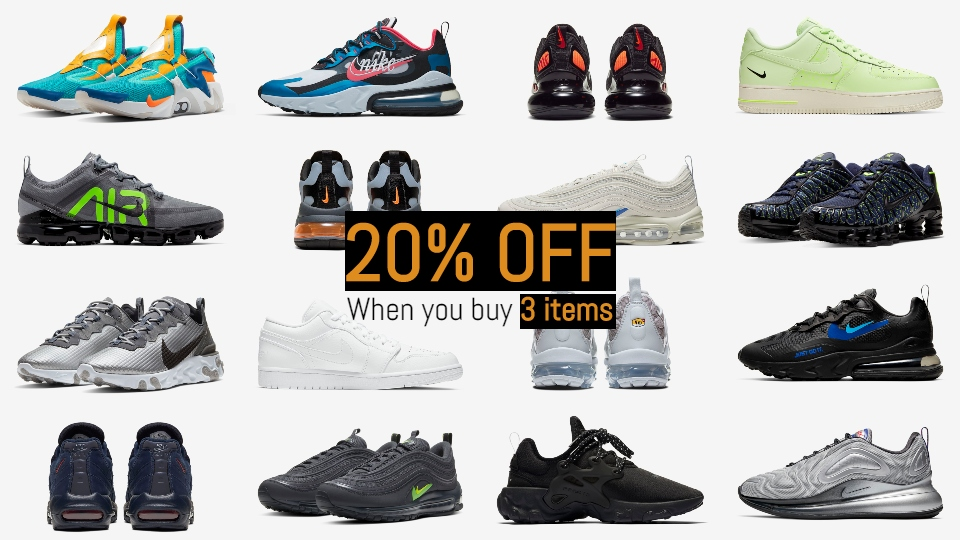 Find Out How To Take 20% Off This Month's Hottest Releases At Nike UK