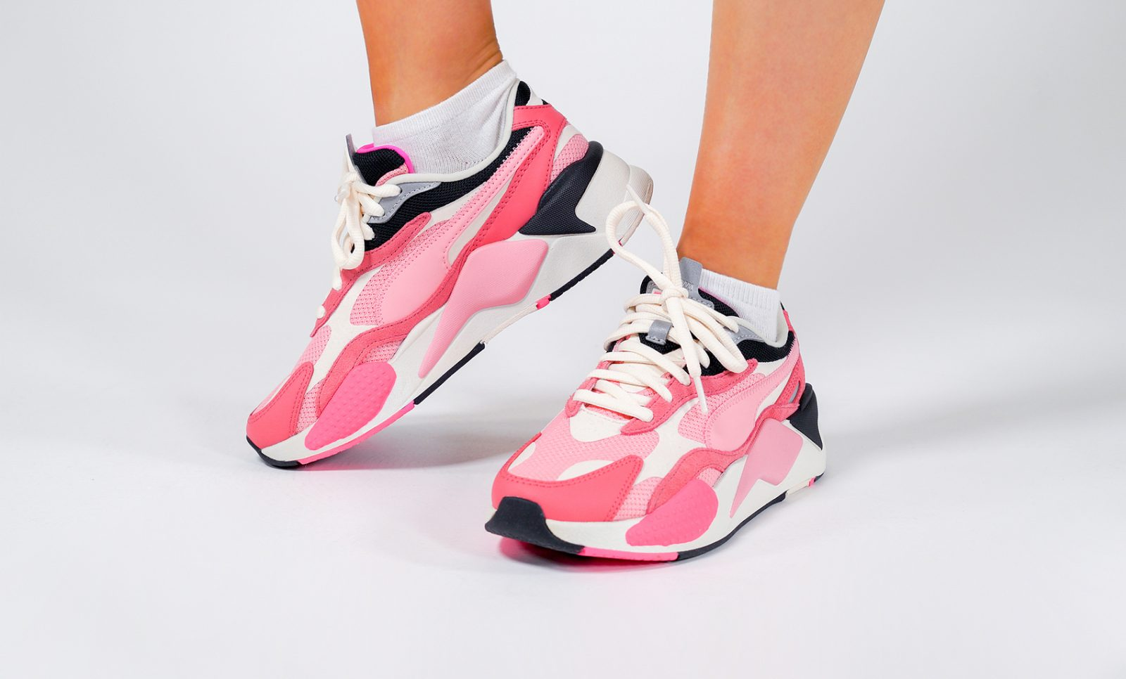 """Perfectly Pink PUMA RS-X 3 """"Puzzle"""