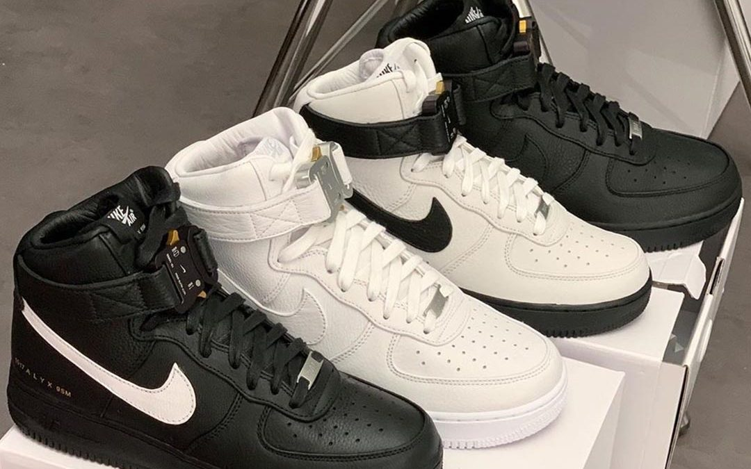 Buckle Up For The 1017 ALYX 9SM x Nike Air Force 1 High