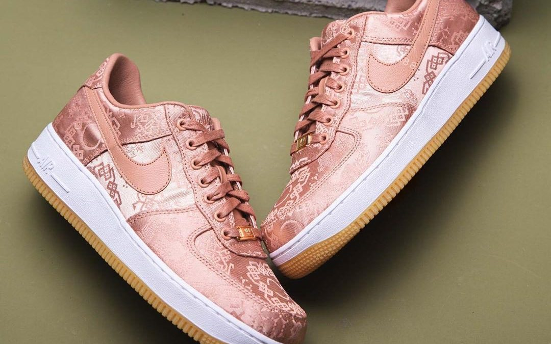 A Closer Look At The CLOT x Nike Air Force 1