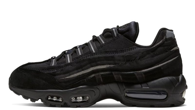 Comme Des Garcons X Nike Air Max 95 Black Where To Buy