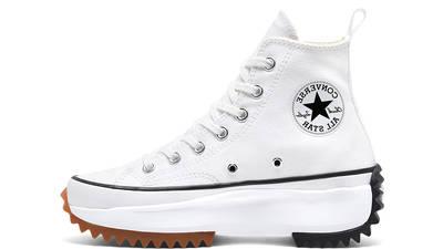 Converse Runstar Hike High White Black Gum 166799C