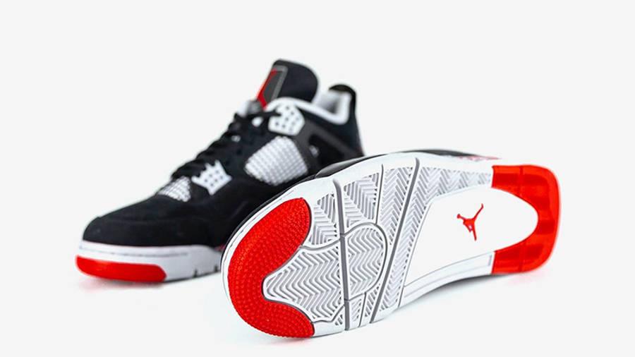 Drake OVO x Jordan 4 Splatter side