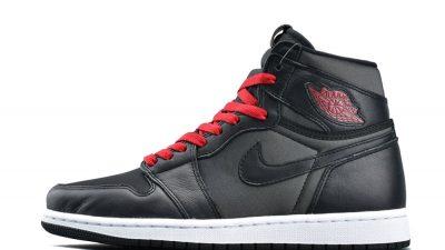 Jordan 1 Black Satin 555088-060