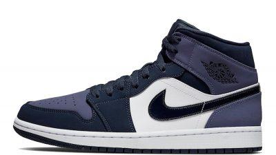 Jordan 1 Mid Sanded Purple 554724-445