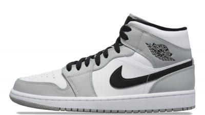 Jordan 1 Mid Smoke Grey 554724-092