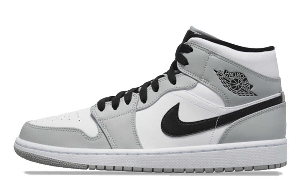 Jordan 1 Mid Smoke Grey