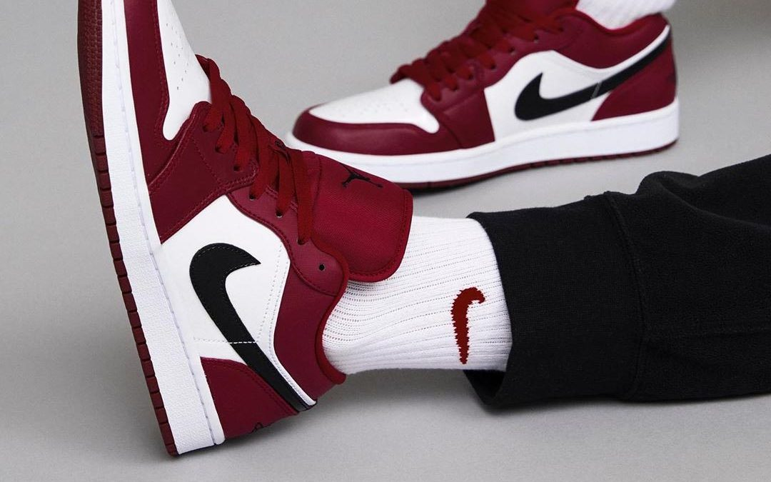 Heat Up Your Collection With The Air Jordan 1 Low