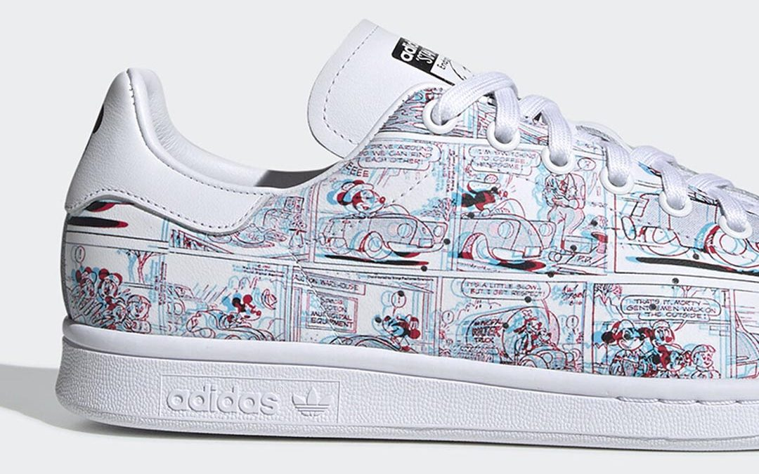 Get Nostalgic With The Mickey Mouse x adidas Stan Smith