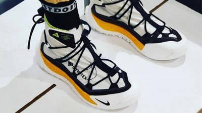 Nike ACG Air Terra Antarktik White On Foot
