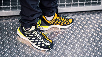 Nike ACG React Terra Gobe Volt Gold BV6344-701 on foot front