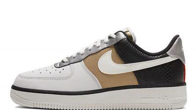 Nike Air Force 1 07 Grey Gold CT3434-001