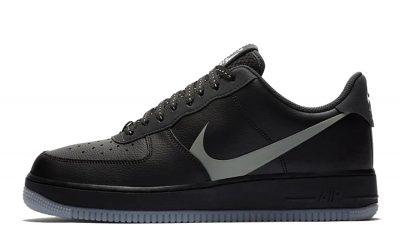 Nike Air Force 1 07 LV8 Black Grey CD0888-001