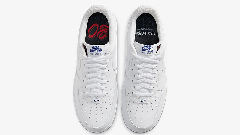 Nike Air Force 1 07 LV8 White NBA 'Paris'