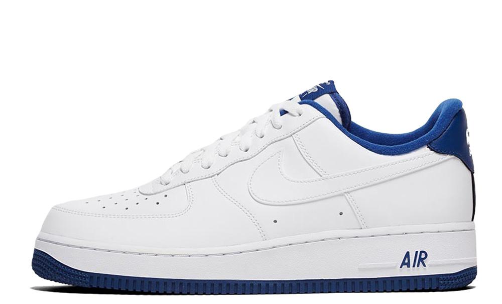 Nike Air Force 1 07 1 White Deep Royal