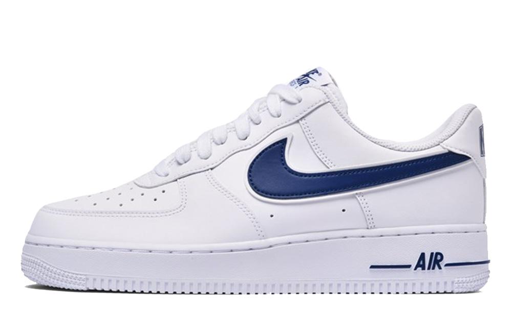 Nike Air Force 1 07 White Deep Royal