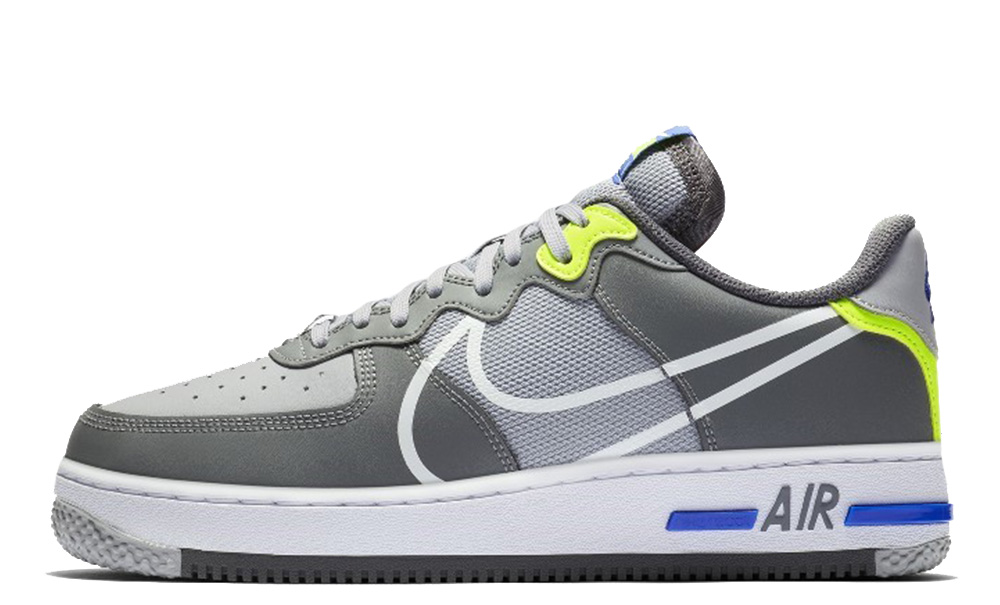 air force with grey tick