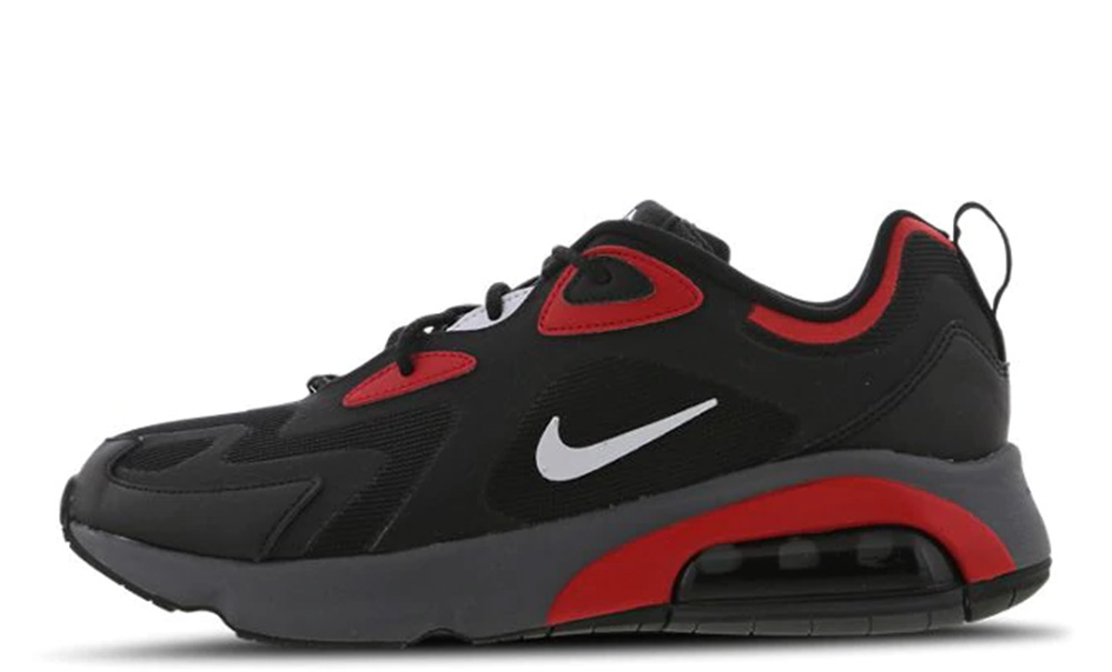 Nike Air Max 200 Black Red | Where To