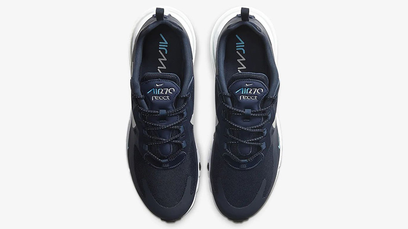 Nike Air Max 270 React Obsidian White