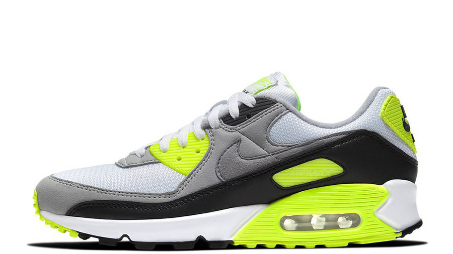 Nike Air Max 90 OG Volt   Where To Buy   CD0881-103   The Sole ...