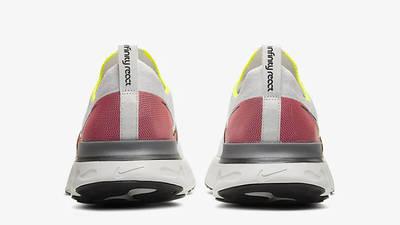 Nike React Infinity Run Flyknit White Pink CD4371-004 back