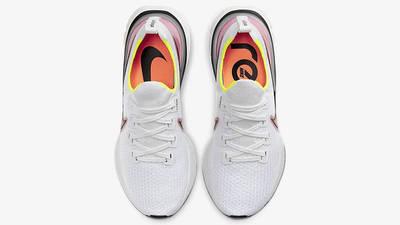 Nike React Infinity Run Flyknit White Pink CD4371-004 middle