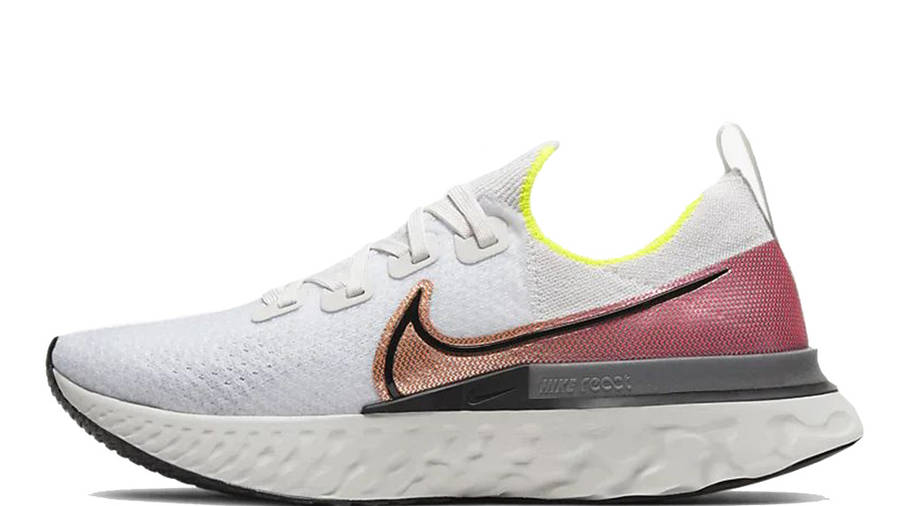 Nike React Infinity Run Flyknit White Pink CD4371-004