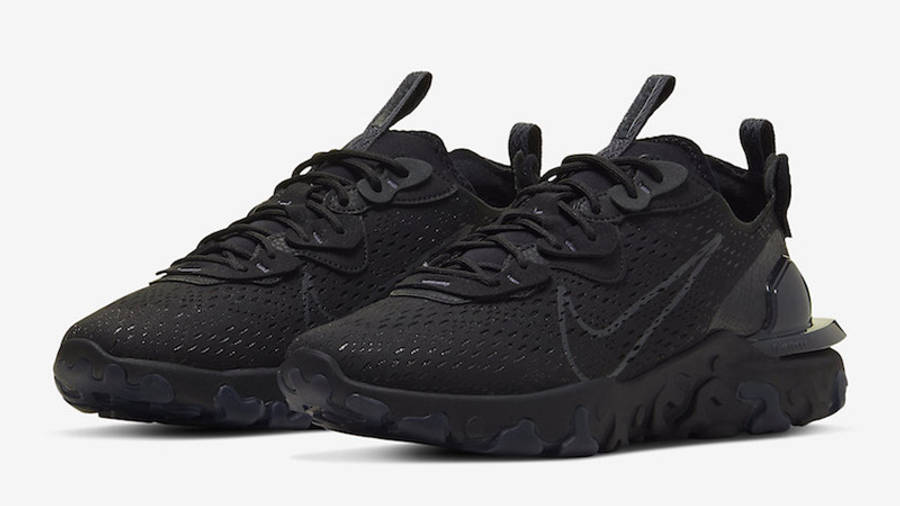 Nike React Vision Black Front
