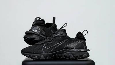 Nike React Vision Black Lifestyle