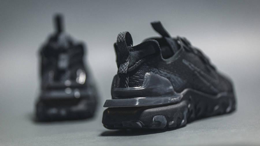 Nike React Vision Black On Floor Back