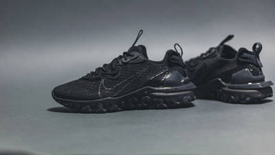 Nike React Vision Black On Floor Side