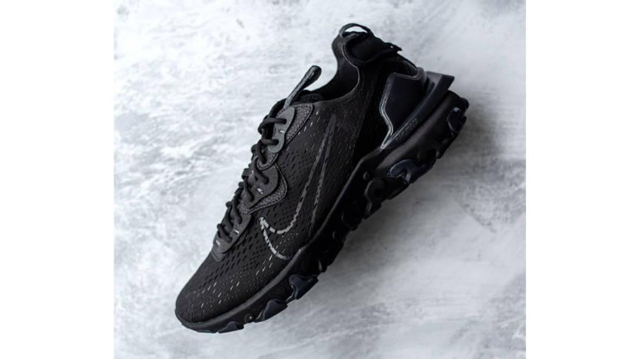 Nike React Vision Black On Floor