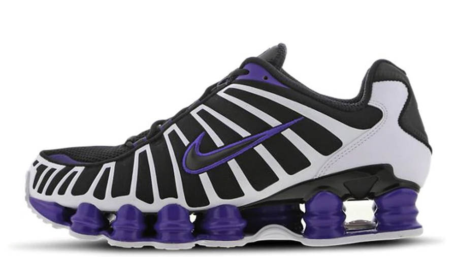 Alivio físicamente Skalk  Nike Shox TL Purple White | Where To Buy | AV3595-008 | The Sole Supplier