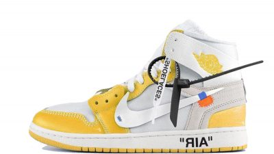 Off-White x Air Jordan 1 Canary Yellow