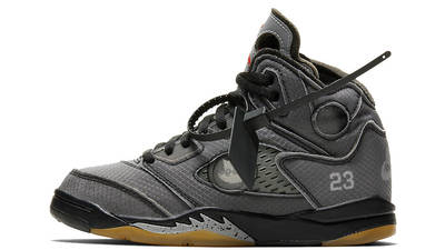 Off-White x Jordan 5 Black