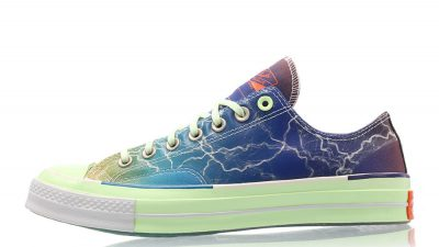 Pigalle x Converse Chuck Taylor All-Star 70s Ox Lightning Storm165747C front