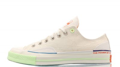Pigalle x Converse Chuck Taylor All-Star 70s Ox White 165748C front