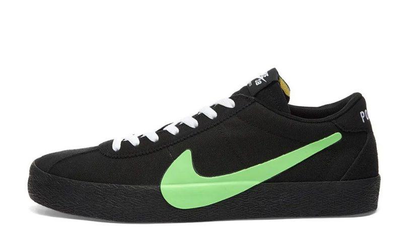 Poets x Nike SB Zoom Bruin Black Green CU3211-001