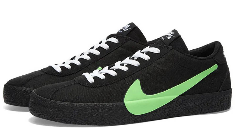 Poets x Nike SB Zoom Bruin Black Green CU3211-001 front