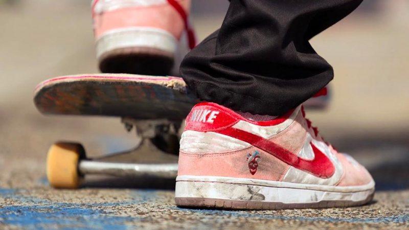 nike sb dunk low strangelove skateboard