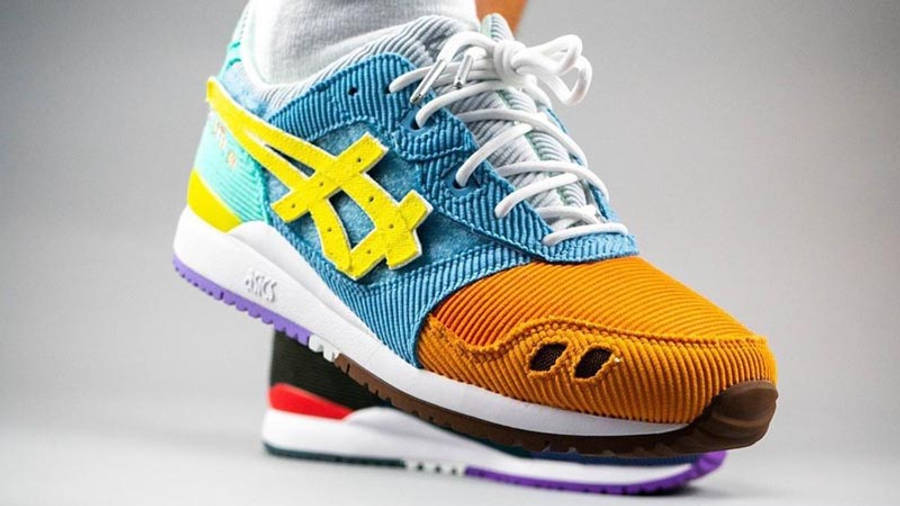 Sean Wotherspoon x atmos x ASICS GEL-Lyte 3 On Foot