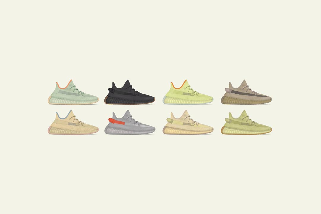 The Yeezy Boost 350 V2 Spring 2020 Line