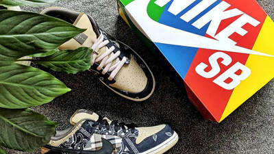 Travis Scott x Nike SB Dunk Low Cactus Jack Lifestyle