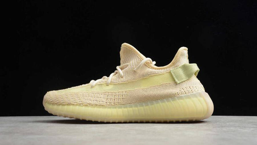 Yeezy Boost 350 V2 Flax Lifestyle Side