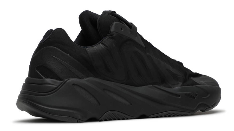 Yeezy Boost 700 MNVN Triple Black Back