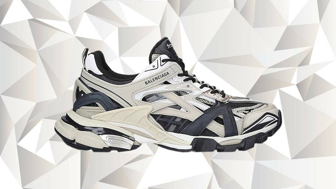 """The Balenciaga Track 2 """"Beige"""" Is Made From Almost 200 Individual Elements"""