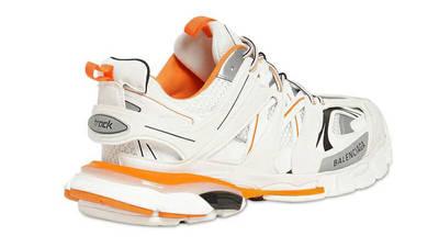 Balenciaga Track White Orange Back