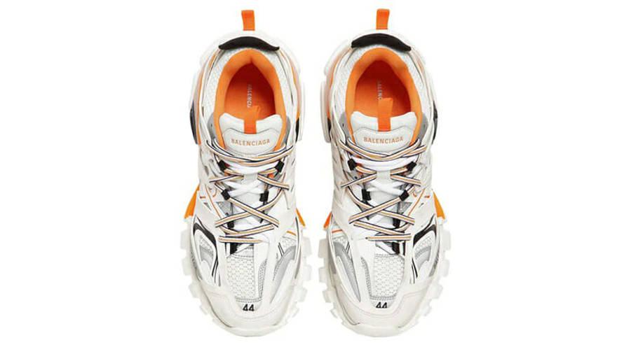 Balenciaga Track White Orange Middle